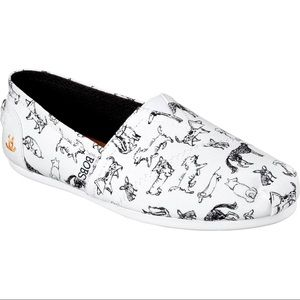 Bobs for Dogs Canvas Shoes
